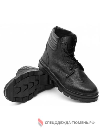 Ботинки (иск.мех) Бортопрошивные юфть/кирза