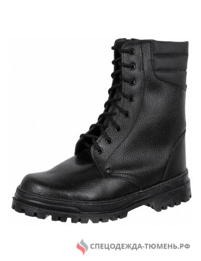 Ботинки ОМОН хром