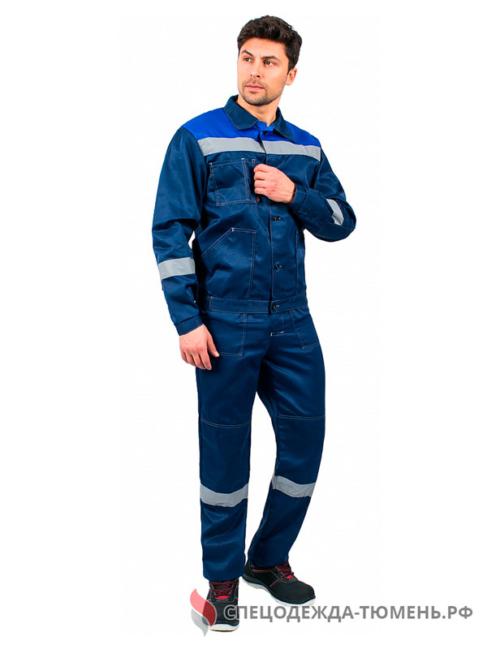 Костюм Легион-2 СОП (тк.Смесовая,210) п/к, т.синий/васильковый