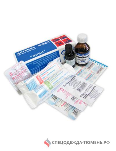 Аптечка ФЭСТ индивидуальная МИНИ (футляр-коробка, пластик)