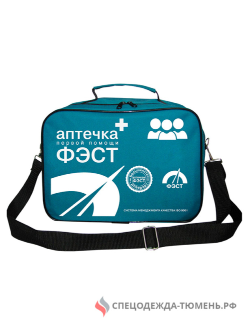 Аптечка ФЭСТ коллективная для ЗС ГО на 100-150 человек (сумка)