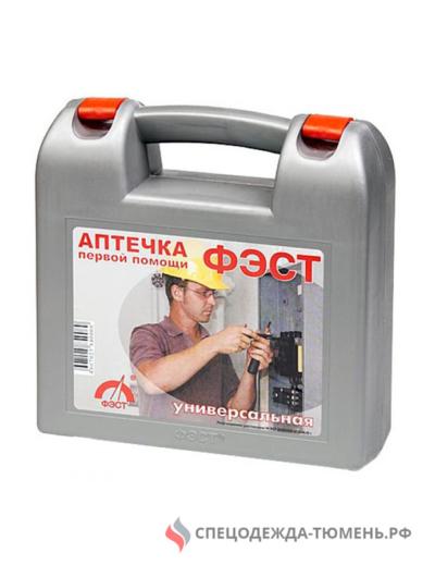 Аптечка ФЭСТ универсальная (пластиковый футляр 210х210х75)