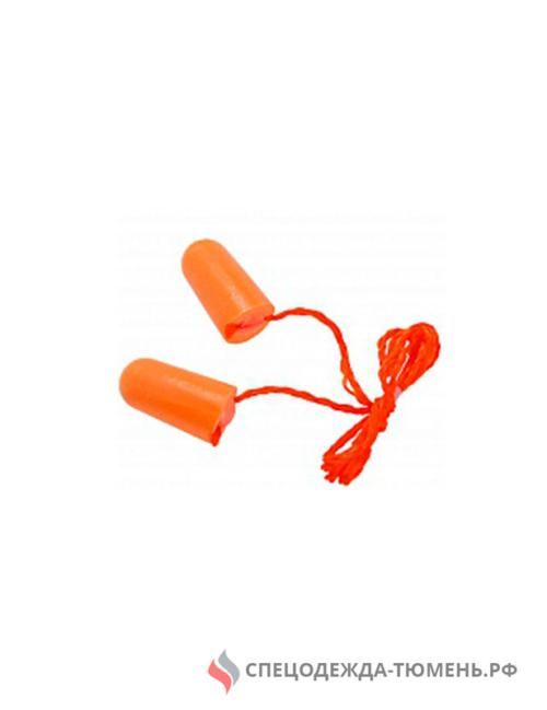 Беруши 3М™ 1110 (37дБ) со шнурком (100пар)
