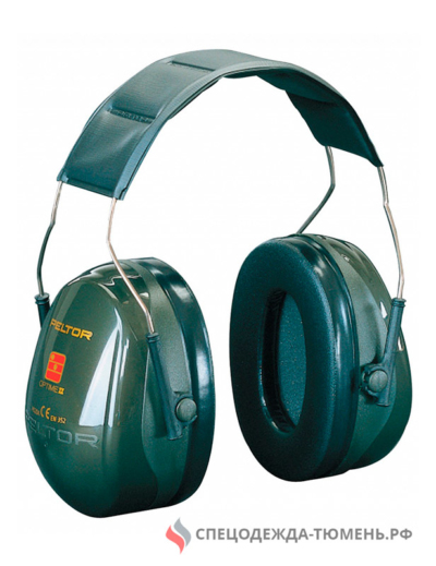 Наушники 3М™ Peltor™ Optime II (31 дБ) стандартное оголовье, H520A-407-GQ