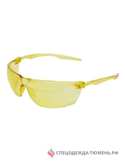 Очки открытые 088 SURGUT CONTRAST super (2-1,2 РС) желтые, 18836