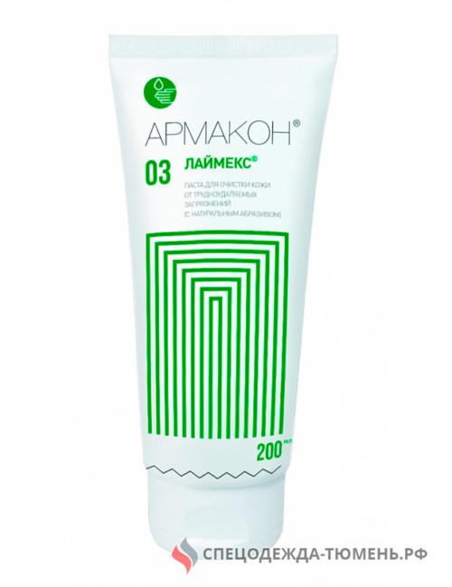 Паста ЛАЙМЕКС с натур. абразивным веществом для очистки кожи, 200мл. арт. 1193