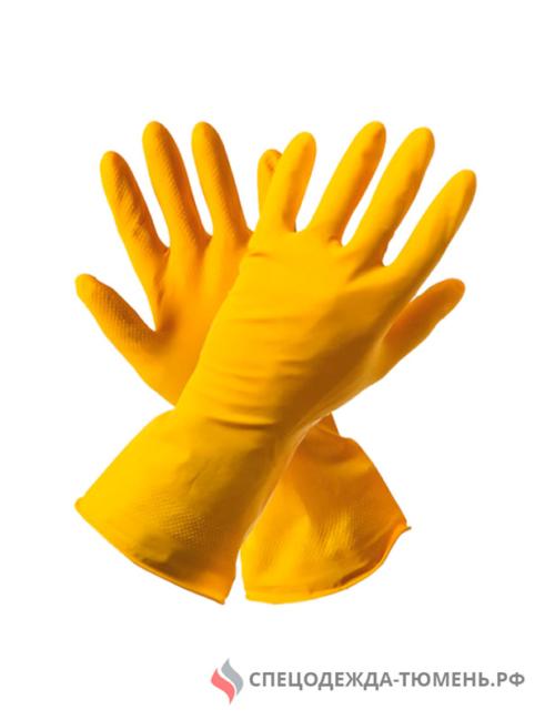 Перчатки резиновые хозяйственные
