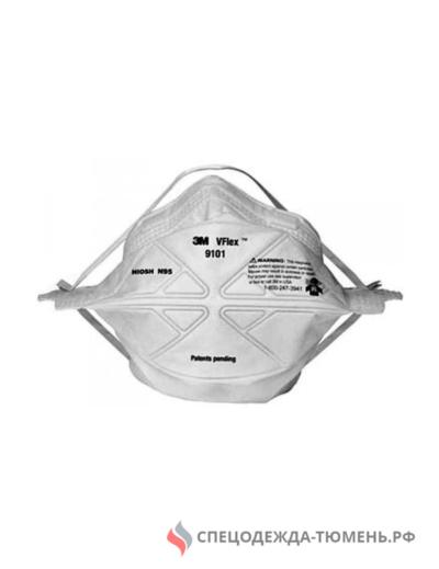 Респиратор 3М™ 9101 VFlex™ (FFP1) без клапана, противоаэрозольный