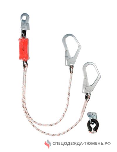 Строп веревочный двойной с амортизаторо аВ22