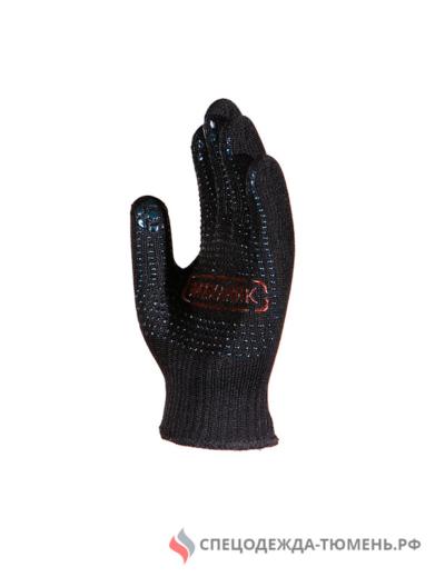 Перчатки Манипула Механик Блэк (TNG-30, черн. нейлон, хлопок+ПВХ)