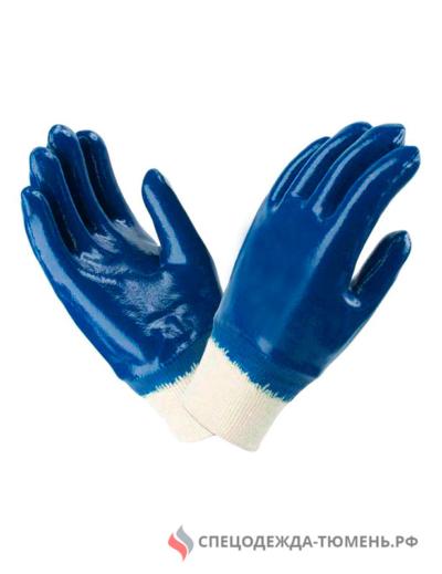 Перчатки нитриловые обливные ЛЮКС