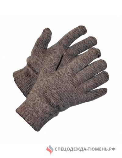 Перчатки трикотажные ЯНВАРЬ с утеплителем (Россия)