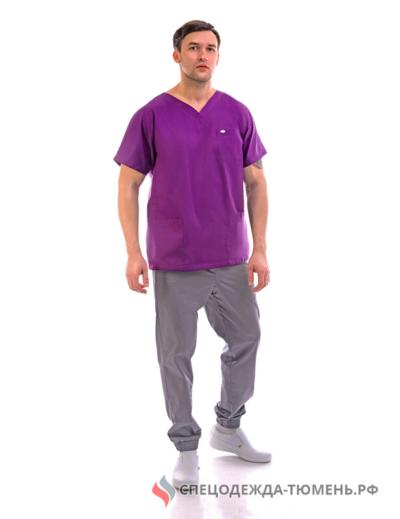 Блуза «Крош», фиолетовый