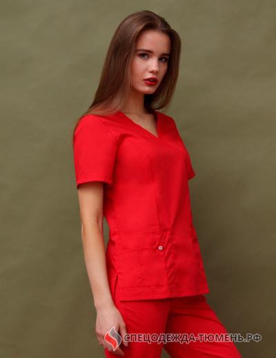 Блуза «Терра», красный