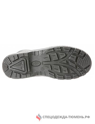 Ботинки юфтевые (искусственный мех) ПУ ЭлитСпецОбувь (арт.13М), черный