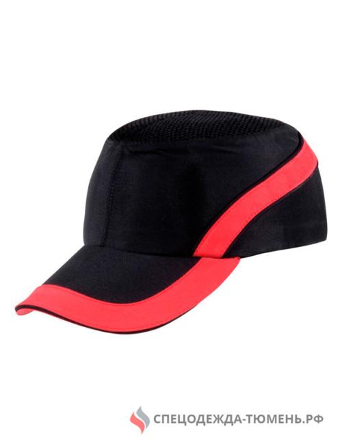 Каскетка защитная AIRCOLTAN, черный/красный
