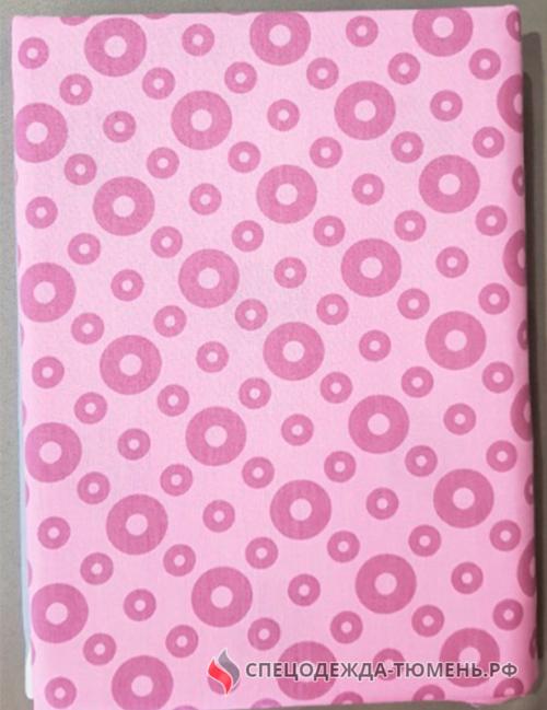 КПБ 2 сп спальный бязь 142гр/м2 5640/1 розовый