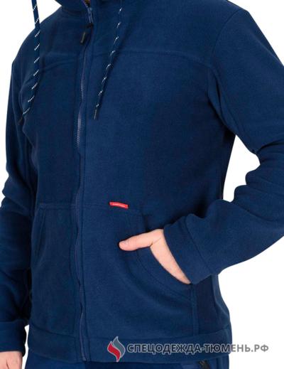 """Куртка флисовая """"Меркурий"""" темно-синяя"""