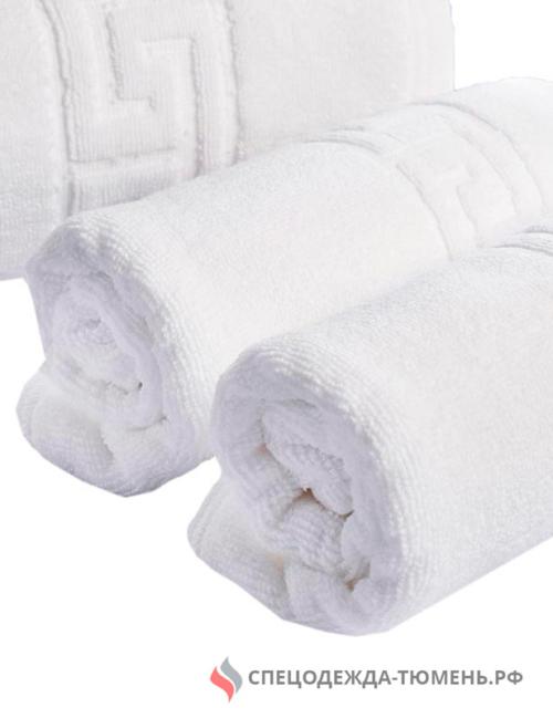 Полотенце (Турк) махровое (70х140) 450г/м2, белый