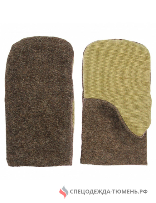 Рукавицы суконные с 2-м наладонником