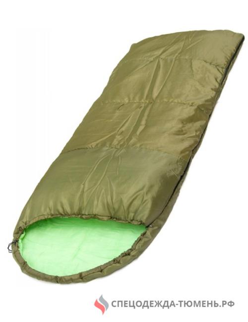 Спальник/Одеяло с подголовником 200*35*75 (СП3), хаки