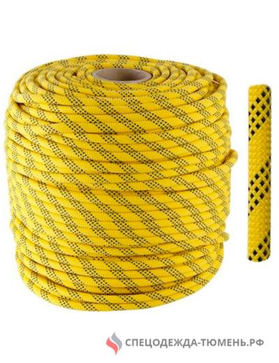 Веревка страховочно-спасательная статика ВЫСОТА V2 (диам. 11мм), бухта 200м