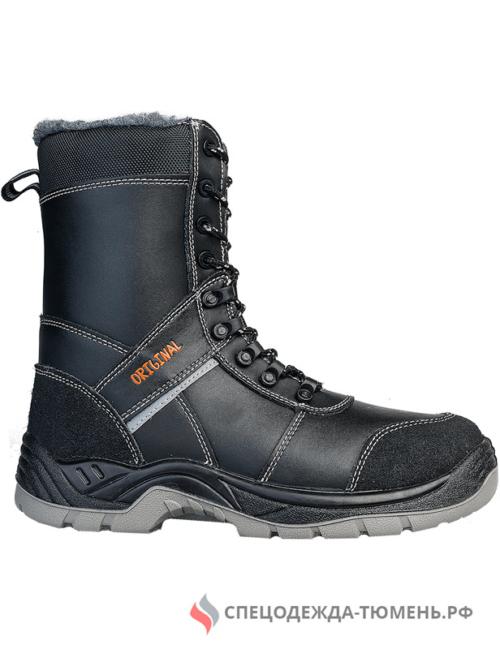 Ботинки iForm высокий берец с КП шерст. мех, кожаные ПУ/нитрил