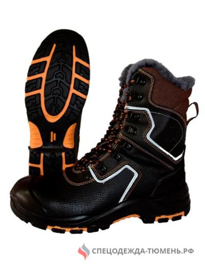 Ботинки с высоким берцем PERFECT PROTECTION КП МС НМ ПУ-Нитрил