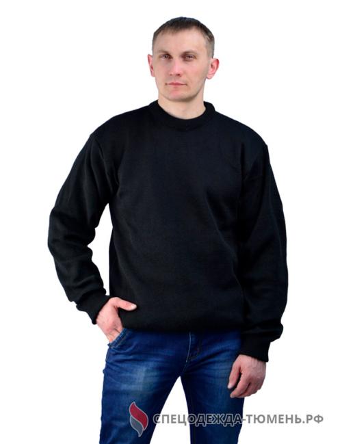 Свитер классический черный