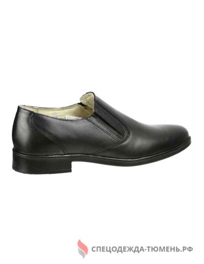 Туфли мужские офицерские классические, цв. черный