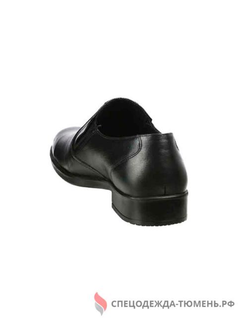 Туфли мужские старшего офицерского состава, цв. черный