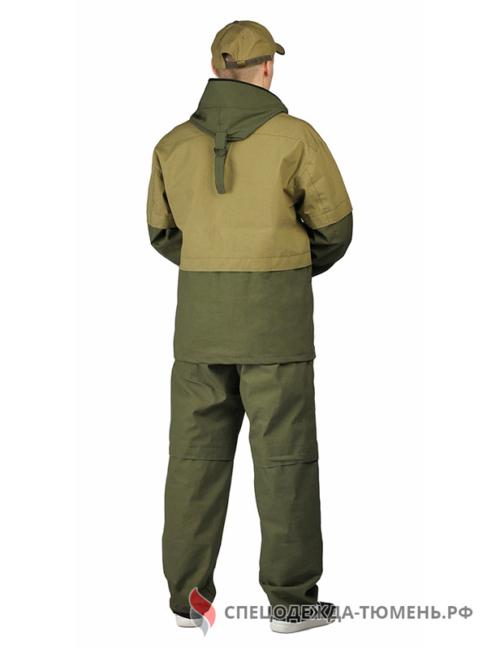 Костюм противоэнцефалитный цвет: Т.ХАКИ/СВ.ХАКИ, ткань: Палатка-235