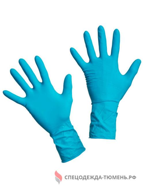 Перчатки медицинские смотровые латексные Dermagrip High Risk нестерильные неопудренные размер M (25 пар в упаковке)