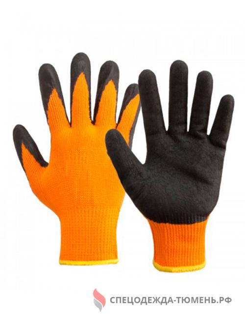 Перчатки акриловые с полипропиленовым покрытием и ворсовой внутренней поверхностью