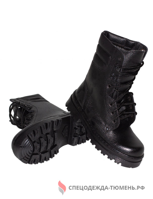 Ботинки с высокими берцами ОМОН Бутекс