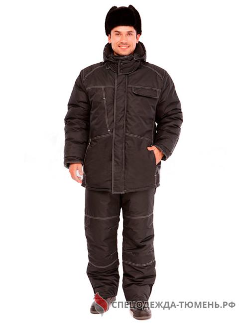 Костюм мужской утепленный «Скандиа», черный