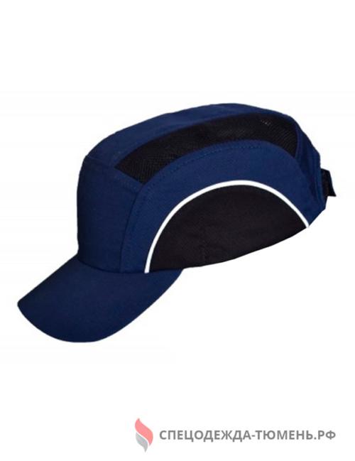 Каскетка защитная с СОП, синий-черный