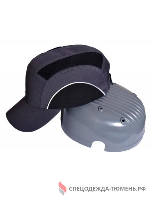 Каскетка защитная с СОП, т.серый-черный