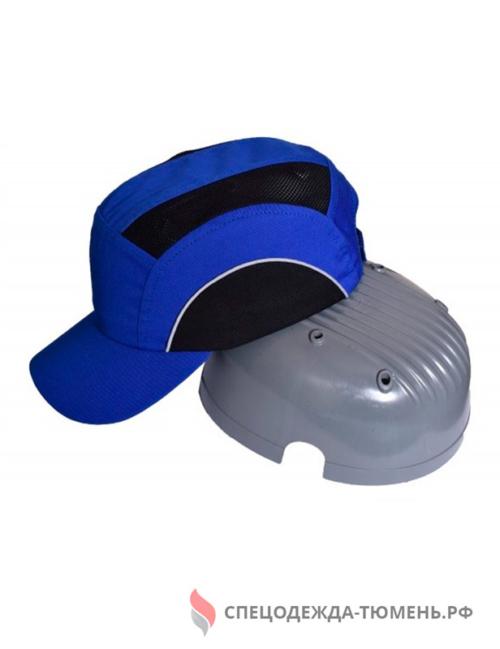 Каскетка защитная с СОП, васильково-черный