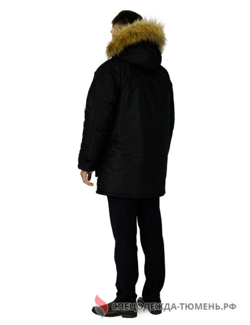 """Куртка зимняя """"Премьер"""", черный"""