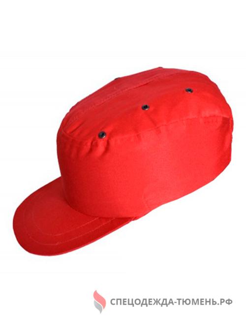 Каскетка защитная, красный