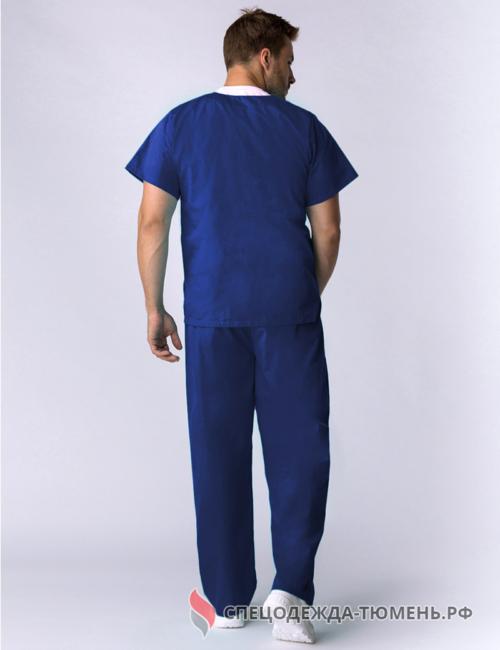 Костюм хирурга (тк.ТиСи), т.синий